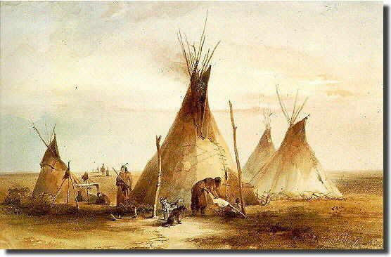 Tipis Lakotas